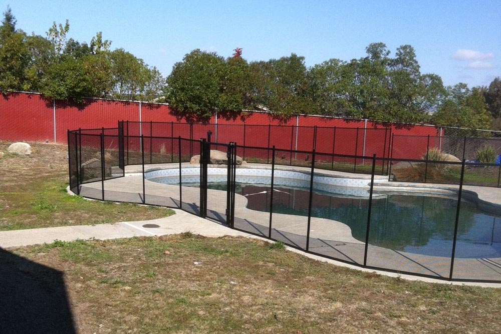 Pool fences swimming safety gates deck